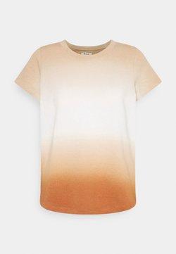 Madewell - DOCK TEE DIP DYE - T-Shirt print - ochre