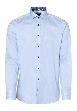 OLYMP - Hemd - hellblau weiß