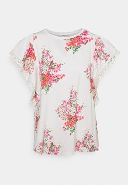 Desigual - MERY - T-Shirt print - white