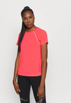 ONLY Play - ONPPERFORMANCE TRAINING LOOSE - T-paita - fiery coral/black