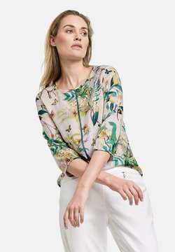 Gerry Weber - Bluse - off white ligh lime aloe druck
