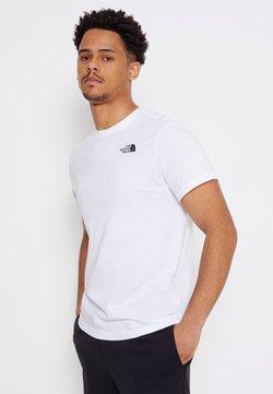 The North Face - REDBOX CELEBRATION TEE - T-Shirt print - white/black