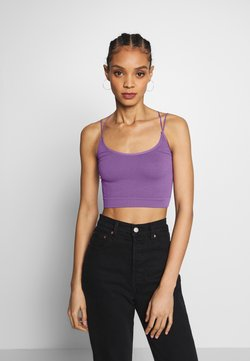 BDG Urban Outfitters - STRAPPY BACK - Top - violet