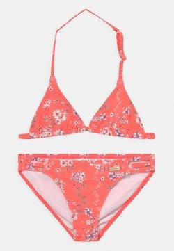 Sunseeker - TRIANGLE DITSY SUN SET - Bikini - orange