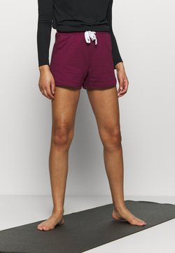 L'urv - PERFECT PEACE SHORT - Pantalón corto de deporte - dark purple