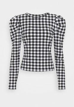 Guess - HADIL - Langarmshirt - black/white