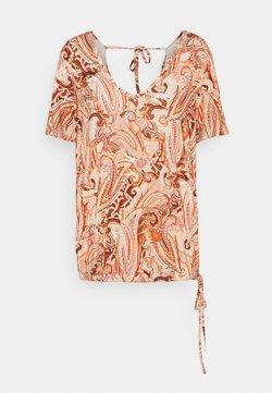 Cream - LULLA - T-Shirt print - desert sage