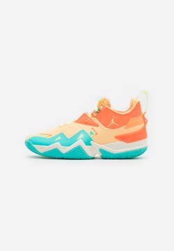 Jordan - WESTBROOK ONE TAKE - Basketball shoes - melon tint/light liquid lime/hyper crimson