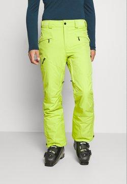 Columbia - KICK TURN PANT - Täckbyxor - bright chartreuse