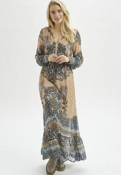 Cream - Vestido largo - blue