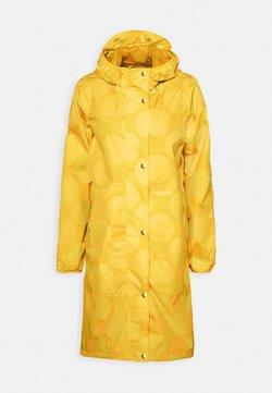 Danefæ København - EDITH RAINJACKET - Regenjacke / wasserabweisende Jacke - mustard yellow