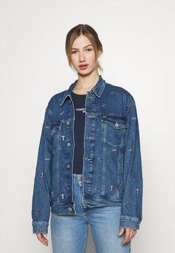 Tommy Jeans - TRUCKER JACKET - Veste en jean - denim light