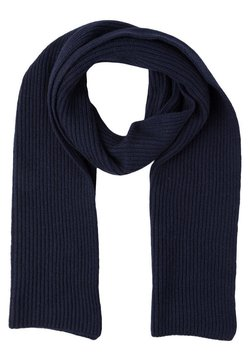 Johnstons of Elgin - RIBBED CASHMERE SCARF - Sciarpa - navy