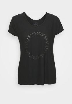 Nike Performance - ICON CLASH MILER  - T-shirt imprimé - black