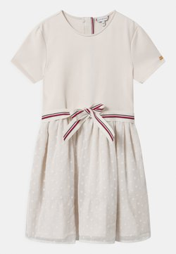 Tommy Hilfiger - COMBI - Jerseykleid - off-white