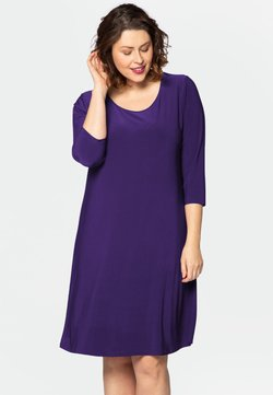 Yoek - LONG SLEEVE - Freizeitkleid - purple