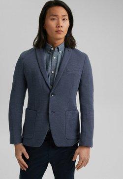 Esprit - MIT MUSTER - Sakko - grey blue