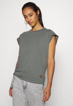 G-Star - GSRAW GYRE KNOT CAP - T-shirts med print - light building