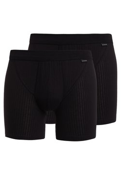 Schiesser - 2 PACK - Shorty - schwarz