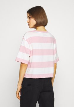 Superdry - HARPER BOXY TEE - T-Shirt print - soft pink