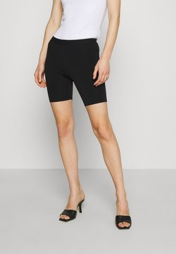 Who What Wear - THE BIKER - Shorts - black