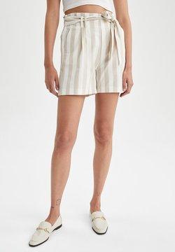 DeFacto - PAPERBAG - Shorts - beige