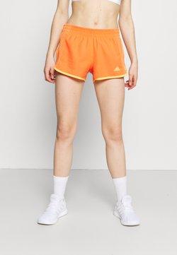 adidas Performance - SHORT COOLER - Pantalón corto de deporte - true orange/hazy orange