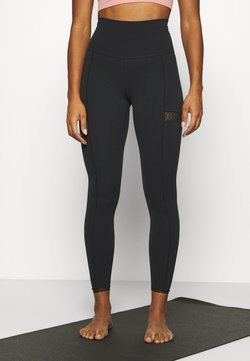 Nike Performance - YOGA - Tights - black