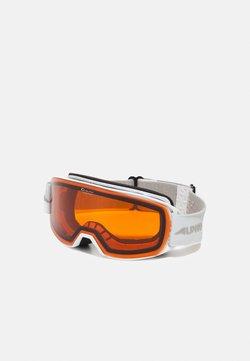 Alpina - NAKISKA UNISEX - Skidglasögon - white/pink matt