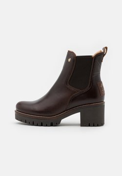 Panama Jack - PIA IGLOO BROOKLYN - Platform ankle boots - marron/brown