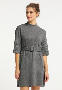 usha - Vestido de tubo - schwarz grau