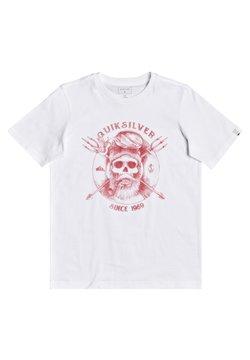 Quiksilver - T-shirt print - white