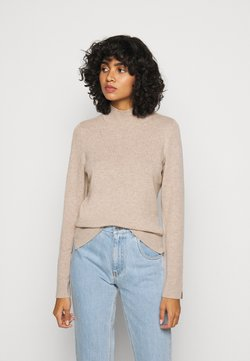 Repeat - SWEATER - Neule - sand
