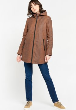 LolaLiza - WITH SNAKE PRINT - Parka - toffee brown