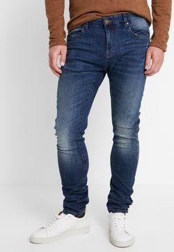 INDICODE JEANS - LEAR - Jeans Tapered Fit - denim blue