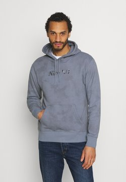 Nike SB - HOODIE UNISEX - Sweatshirt - ashen slate/midnight navy