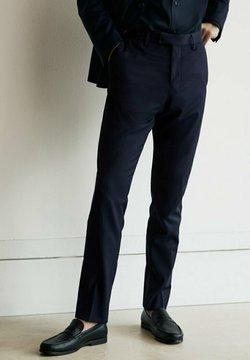 Massimo Dutti - Anzughose - blue black denim