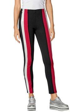 Amy Vermont - Leggings - Hosen - schwarz,rot,weiß