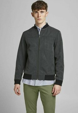 Jack & Jones - Giubbotto Bomber - dark grey melange