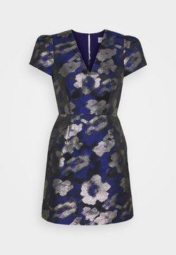 Milly - ATALIE BRUSH DRESS - Cocktailkleid/festliches Kleid - navy