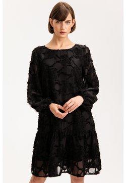 Solar - Sukienka etui - czarny