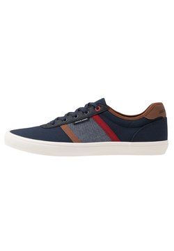 Jack & Jones - JFWLOGAN CASUAL - Sneaker low - navy blazer