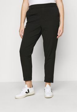 Vero Moda Curve - VMMAYA MR LOOSE SOLID PANT - Pantalon classique - black