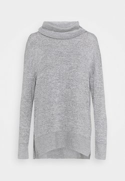 GAP - COWL - Strickpullover - heather grey
