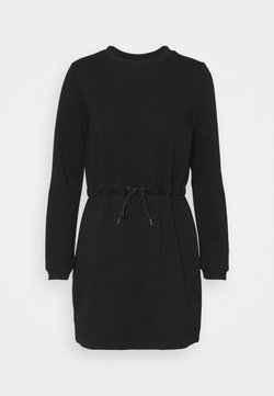 Noisy May Petite - NMALISA DRESS  - Freizeitkleid - black