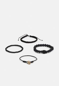 Icon Brand - CUBE COMBO 4 PACK - Armband - black