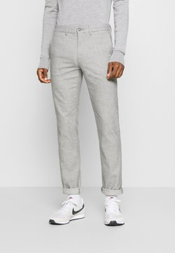 Tommy Hilfiger - DENTON CHINO WOOL LOOK FLEX - Chinot - grey