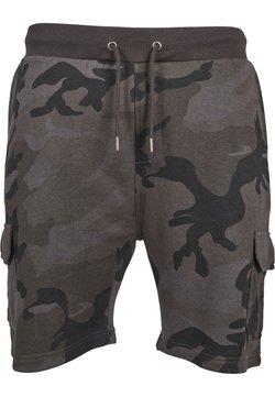 Urban Classics - CARGO TERRY - Shorts - dark camo