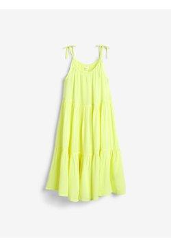 Next - TIERED  - Vapaa-ajan mekko - yellow