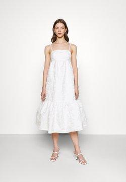 Gina Tricot - LIZETTE DRESS - Cocktailkleid/festliches Kleid - offwhite